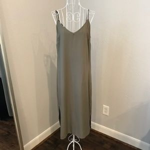 Splendid Dresses - SPLENDID MILITARY OLIVE GREEN MIDI DRESS NWT